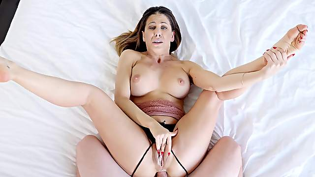 Wife blind folded and fucked