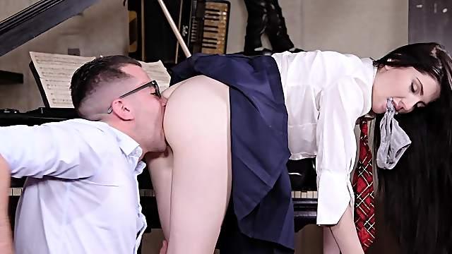Strippers preparing to strip